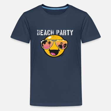 Beachparty SmileyWorld 'Beachparty' teenager t-shirt - Teenage Premium T-Shirt