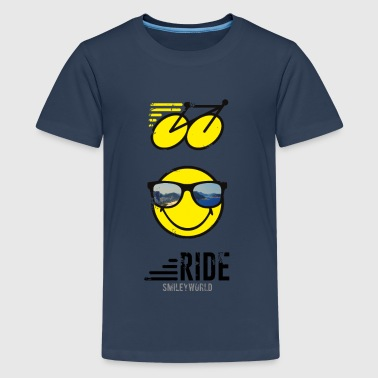 SmileyWorld RIDE Bike - Teenager Premium T-shirt
