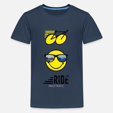 Roadie SmileyWorld RIDE Bike - Teenager Premium T-shirt
