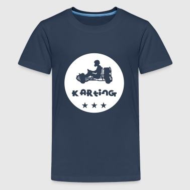 Karting - Teenage Premium T-Shirt