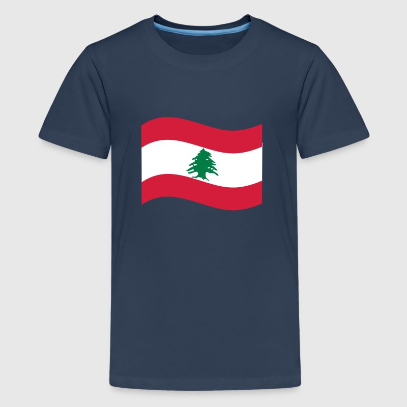 Libanon - Teenager Premium T-Shirt