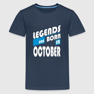 Legends of October - Camiseta premium adolescente