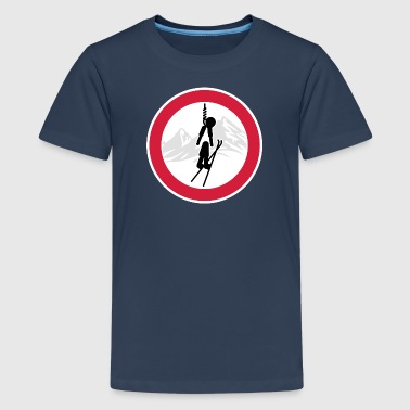 Wintersport: No-Ski - Teenager Premium T-Shirt