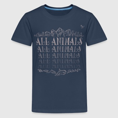 All Animals - T-shirt Premium Ado