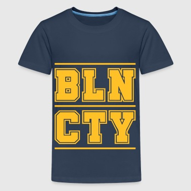 Collegestyle BLN CTY - Berlin City - Teenager Premium T-shirt