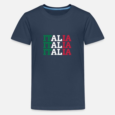 Azzuro ITALIAN - Teenage Premium T-Shirt