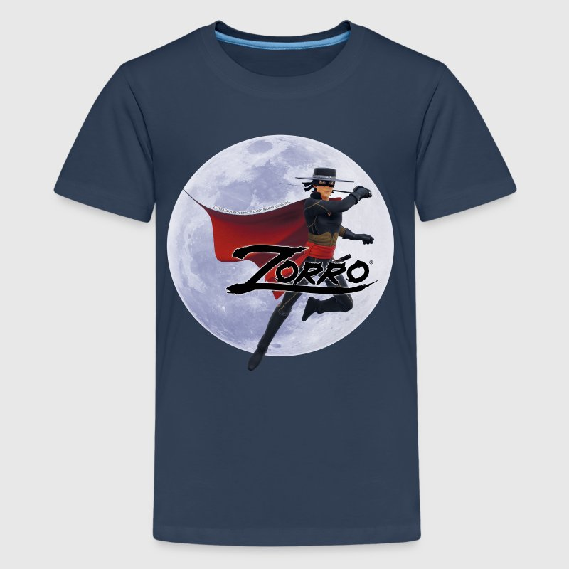 Zorro The Chronicles At Full Moon - Maglietta Premium per ragazzi