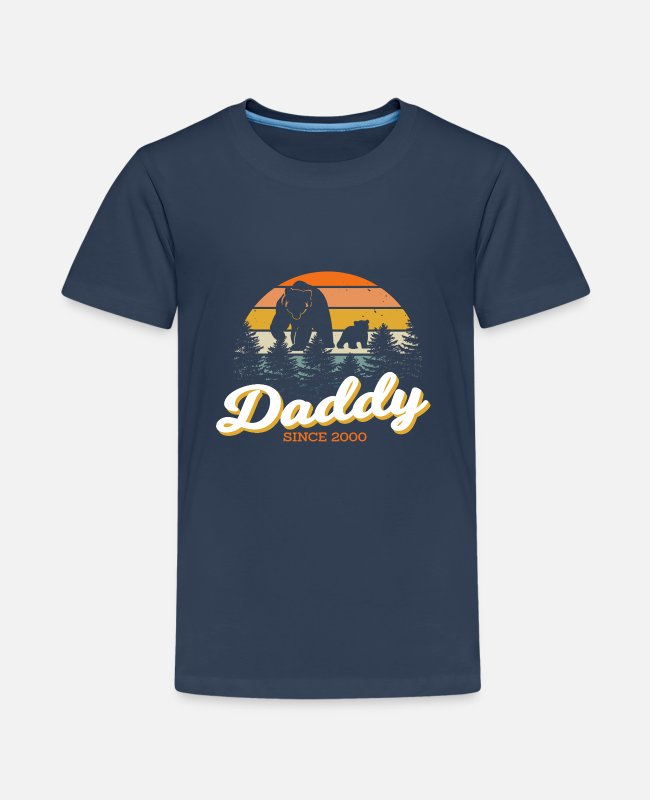 Father's Day T-Shirts - Dad since 2000 - Teenage Premium T-Shirt navy