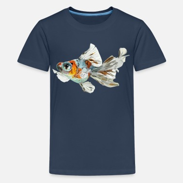 Sjo Telescope fish - Teenage Premium T-Shirt