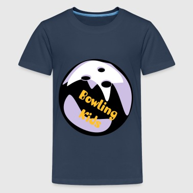 bowlingkugel - Teenager Premium T-Shirt