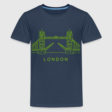 London Tower Bridge - Teenage Premium T-Shirt