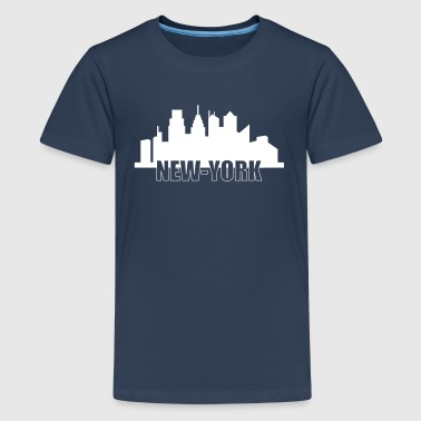 New-York - Teenage Premium T-Shirt