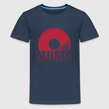 Music - Teenager premium T-shirt