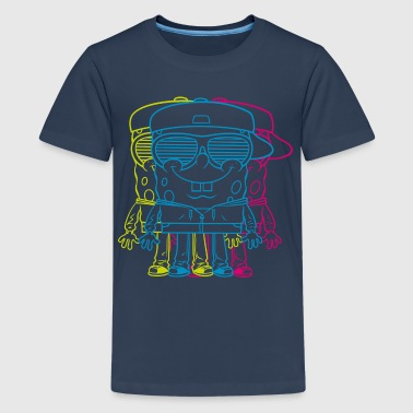 Teenagers' Premium Shirt SpongeBob Triple - Premium-T-shirt tonåring