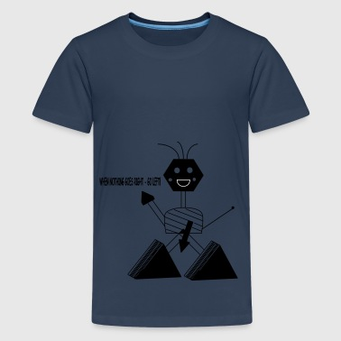 Roboter - Teenager Premium T-Shirt