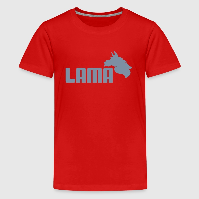 LAMA - Teenager Premium T-shirt