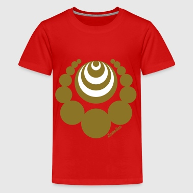 Crop Circles Collection Francisco Evans ™ - Camiseta premium adolescente