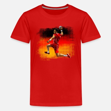 Håndball handball de - Teenager Premium T-Shirt