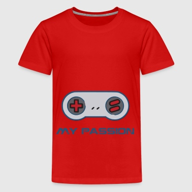 Joystick - Teenage Premium T-Shirt