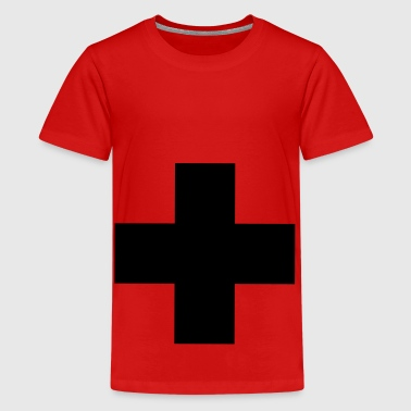 Kruis symbool - Teenager Premium T-shirt