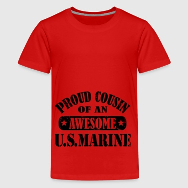 proud cousin - Teenage Premium T-Shirt