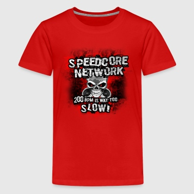 Speedcore Network Clothing and Accessories - Teenage Premium T-Shirt