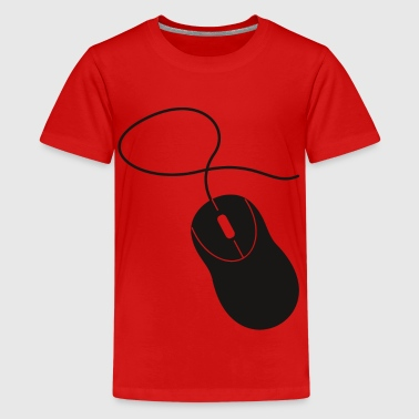 Computer Mouse computer mouse - Teenage Premium T-Shirt