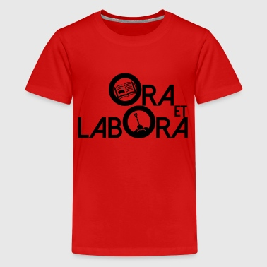 Ora et labora 3N - Teenager premium T-shirt
