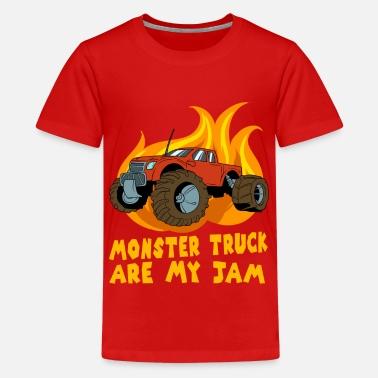 Monster Truck Perfect Monster Truck Racing Idées cadeaux de voiture - T-shirt Premium Ado