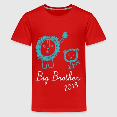 Camiseta Lion Big Brother Big Brother 2018 - Camiseta premium adolescente