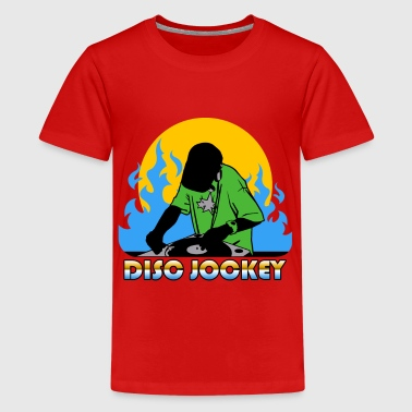 disc jockey - Teenager Premium T-shirt