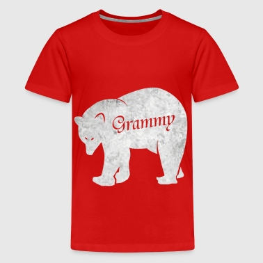 Grand-mère grand-mère ours ours chemise Grammy Love - T-shirt Premium Ado