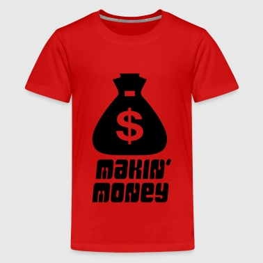Dinero - Makin 'Money - Camiseta premium adolescente