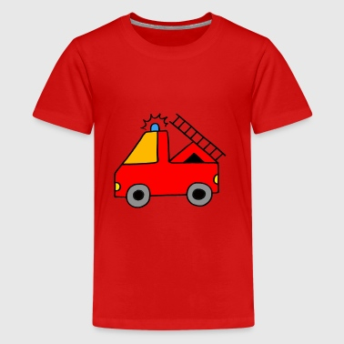 Tatu Tata here comes the fire department - Teenage Premium T-Shirt