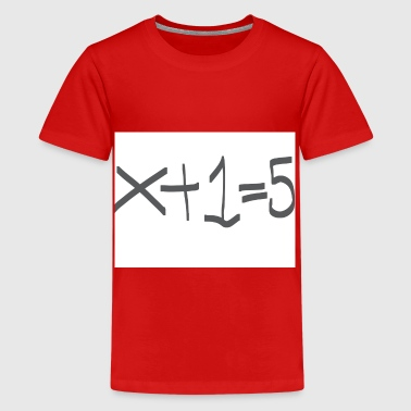 Easy Maths - Teenage Premium T-Shirt
