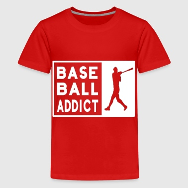 Baseball Baseballer Coach Saying Funny Gift - Teenage Premium T-Shirt