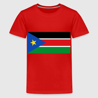 South Sudan South Sudan Flag - Teenage Premium T-Shirt