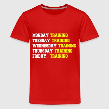 Training week - Teenager Premium T-shirt