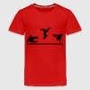 Freerunning, Free Running, Artistics - Teenager Premium T-shirt