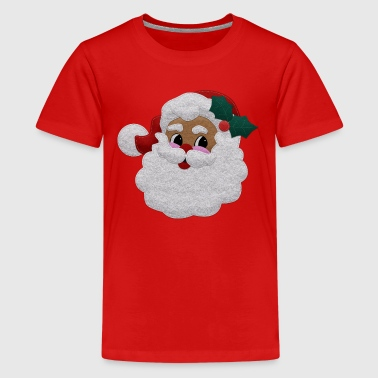 Felt Santa - Teenage Premium T-Shirt