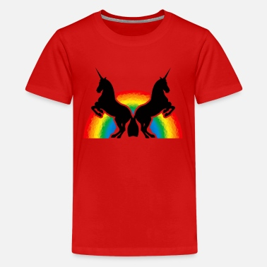 Unicorn # 4 - Teenage Premium T-Shirt