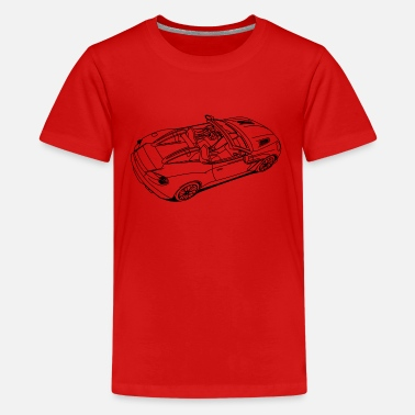 Sports Car Sports Car - Teenager Premium T-shirt