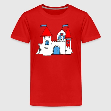 Medieval Castle - Teenage Premium T-Shirt
