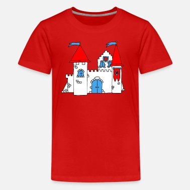Medieval Medieval Castle - Teenage Premium T-Shirt