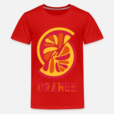 Orange orange orange - Teenager Premium T-Shirt