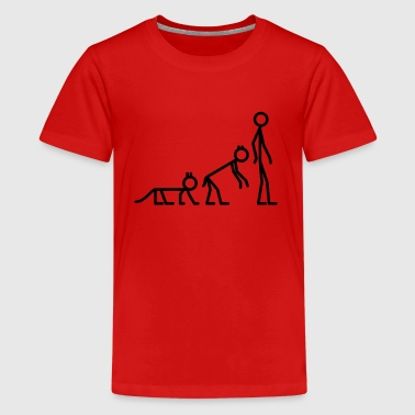 Shapeshifting by Cheerful Madness!! - Teenage Premium T-Shirt