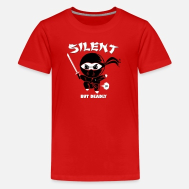 Deadly Silent but Deadly Shirts - Teenager Premium T-shirt