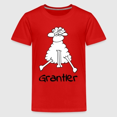 Grantler_groß_2f - Teenager Premium T-Shirt
