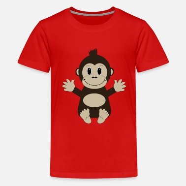 Loui Loui The Ape - Teenager Premium T-Shirt