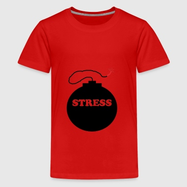 Zonder stress - Teenager Premium T-shirt